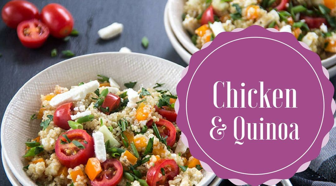 Chicken quinoa recipe