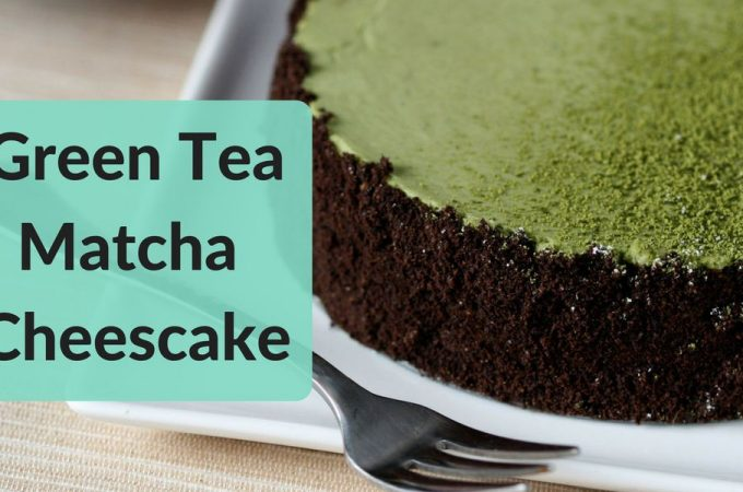 Green Tea Matcha Cheescake