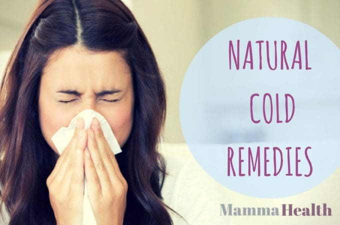 Best natural cold remedies