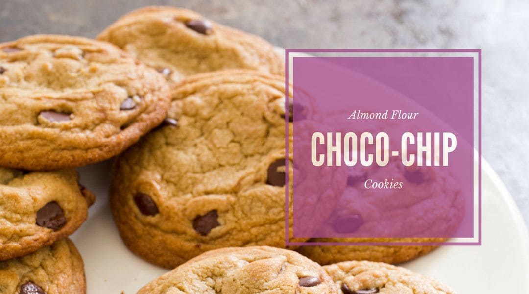 recipe Almond flour chocolate chip cookies