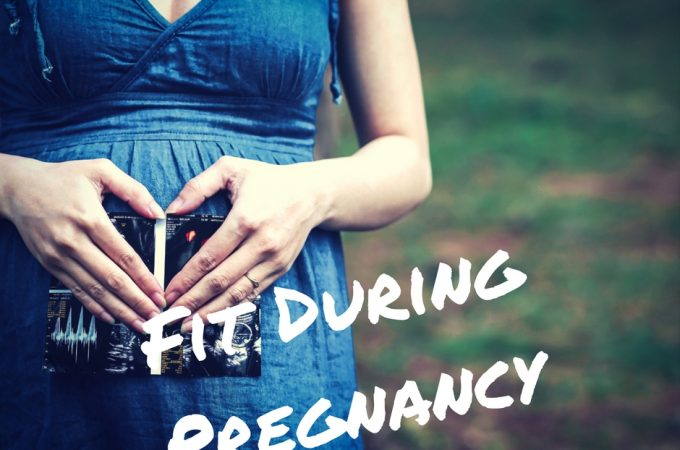 Getting and staying fit during pregnancy