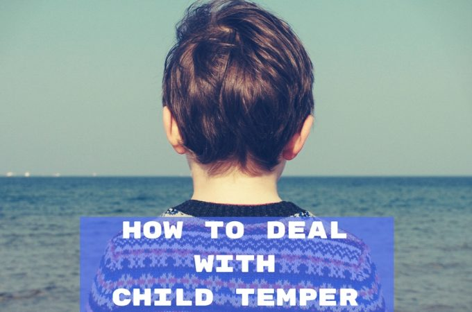 5 tips how to deal with child temper tantrums