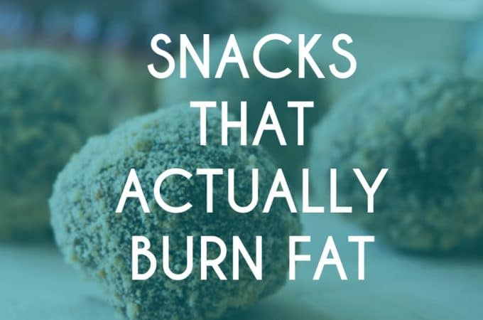 5 Healthy Snack Alternatives That Actually Burn Fat