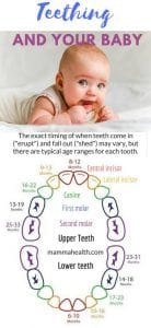 Teething and your baby. Symptoms and remedies. How to ease the distress